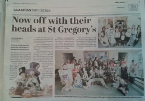 Chorley Guardian St Gregorys