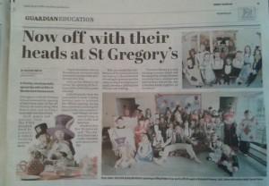 Chorley Guardian St Gregorys