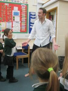 Storytelling @ Dagenham (school event)