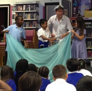 Greek Myths @ Barking and Dagenham Libraries (school event)