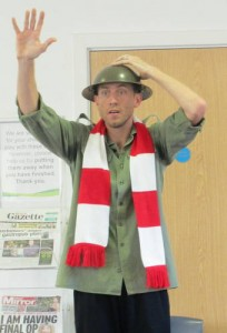 Band of Brothers: Great War Stories @ Barking and Dagenham Libraries (school event)
