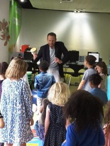 Storytelling @ Guildford, Surrey (school event)