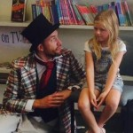 The Mad Hatter and Alice