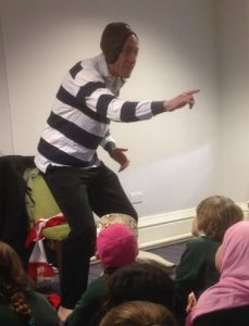 "Tom Palmer's ""The Last Try"" @ Hull Libraries (school event)"
