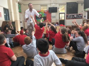 Storytelling @ Chingford (school event)
