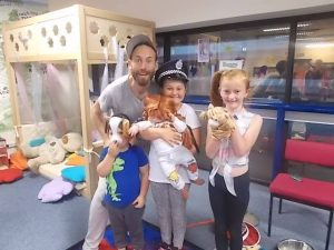 Storytelling for Mums and Dads @ Ipswich (school event)