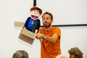 Oliver Jeffers Workshop @ Dagenham (school event)