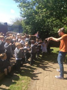 World Book Week Storytelling @ Pevensey, Sussex (school event)