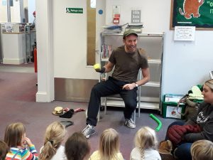 National Storytelling Week @ Robertsbridge, Sussex (school event)