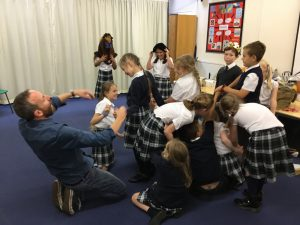 Storytelling @ Stoke on Trent (school events)